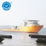 Salvamento de barcaças aterrado Airbags doca flutuante de elevação