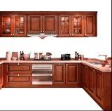 Cabinetry su ordine in linea della cucina di Foshan di legno solido dei Governi della Cina