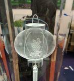 小さい3Dガラス内部の彫版機械