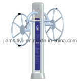 Напольное оборудование пригодности для гимнастики с колесом рукоятки зонтика
