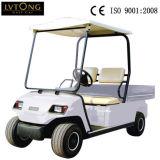 2 SeatersのCarogoボックスが付いている電気ゴルフ車