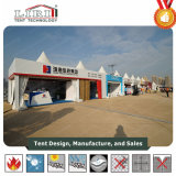 10 x 10 Tenda Pagodeim freien quadratisches Gazebo-Zelt