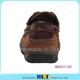 人のための経済的な革ボートの靴
