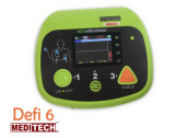 """Defibrillator automatizado External de Meditech Defi6 (AED) com o monitor de 3.5 """" ECG"""