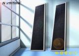 50W 태양 전지판을%s 가진 옥외 점화 LED 태양 가로등