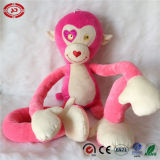 Jouet rose de peluche du Roi Monkey Stretchkins Kids Love