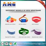 Température élevée résisté bracelet RFID en plastique SPA pour le contrôle des accès