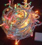 Luz da corda do diodo emissor de luz RGB para a decoração do casamento da festa de Natal