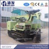 Hf220y 크롤러 유형 우물 드릴링 리그
