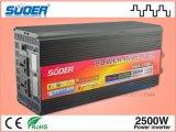 Invertitore dell'invertitore 2500W di potere di CC 24V di Suoer con il caricatore (HAD-2500D)