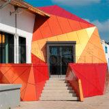 Panneau en aluminium de formes complexes hyperboliques pour la décoration