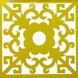 لامعة صفراء [شوبفرونت] زخرفة ألومنيوم مركّب [بنل-لودونغ]