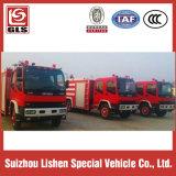 Isuzu Fire Truck 4X2、7000L、240HP Isuzu Engine