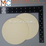 disco di ceramica refrattario 99.7% dell'allumina 1800c