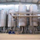 Strumentazione industriale di preparazione della birra dell'acciaio inossidabile