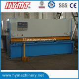 Máquina de corte da guilhotina QC11y-16X3200 hidráulica