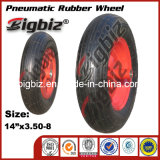 16 roda pneumática de borracha da polegada 4.00-8