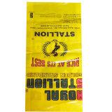 sac de empaquetage de riz tissé par pp stratifié par BOPP de l'alimentation des animaux 25kg