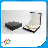 Leather Tray Insert Black Matt Wooden Jewelry Packing Ring Box