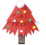 Curvas do cabelo da decoração do Natal da fita do Grosgrain