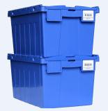 Caixa de armazenamento de plástico de logística para a Assembleia se movendo