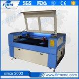 Máquina de estaca da gravura do laser para a madeira acrílica