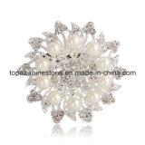 Brooch della signora Fashion Jewelry Jewellery Rhinestone per il vestito (TB-027)