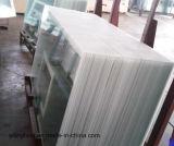 カラー陶磁器のフリットにされた緩和されたガラスの背板
