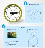 cámara portable de la alcantarilla del cable de los 20/40m para la inspección de la alcantarilla