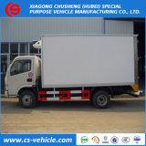 Dongfeng 4X2 5ton 냉각 상자 트럭에 의하여 냉장되는 찬 룸 밴 Truck