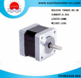 0.9° motor deslizante híbrido 2-Phase do motor 35hm2a28-064stepping