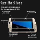 pour le bord S7 protecteur incurvé d'écran en verre Tempered de téléphone de Mobile-Cellule