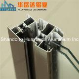 Perfil de aluminio de la electroforesis para las puertas y el marco de Windows/el perfil del aluminio de los muebles de la decoración