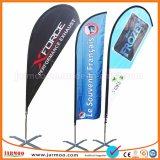 Hot Sale Beach Flag Polyester promotionnelle