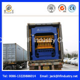 Máquina oca concreta do bloco do cimento Qt12-15 inteiramente automático/fatura de tijolo