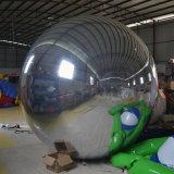 Модный парад, воздушный шар зеркала PVC серебра раздувной для диско
