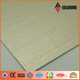 Il colore d'argento ha verniciato il comitato di alluminio composito impresso di ASP (ID-011)