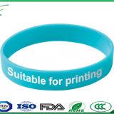 Bracelete de borracha de silicone personalizado Cuff Pulseira pulseiras banda