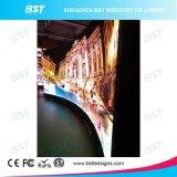 상점가를 위한 P2.98mm에 의하여 구부려지는 HD 실내 풀 컬러 발광 다이오드 표시