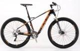 Bicicleta Moutain de fibra de carbono 27,5 * 17 com fibra de carbono com travão Shimano