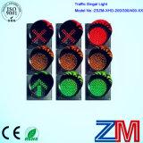 Sinal do diodo emissor de luz da esfera do preço de fábrica de três jogos/sinal de tráfego/luz cheios do Semaphore