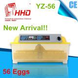 Incubateur automatique marqué d'oeufs de 56 poulets de la CE mini (YZ-56)