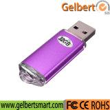 Pluma plástica colorida de la pluma del USB para el regalo de la promoción