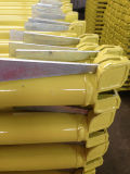 Geschilderd/Poeder Met een laag bedekte Geel van het Grootboek van de Steiger van het Systeem van Ringlock Uitstekende kwaliteit
