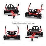 2016 hangt de Nieuwe Levering voor doorverkoop van de Aankomst de Steun van Kart Hoverboard voor Twee rijdt de Elektrische Autoped van het Saldo