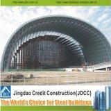 Colorear el edificio de acero de la estructura de acero de las tarjetas de emparedado