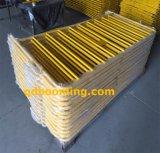 Барьер управлением загородки/толпы стальной конструкции металла временно