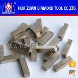 Goede Scherpte 1200mm Segment van het Blad van de Cirkelzaag van de Diamant, het Scherpe Uiteinde van de Steen, Scherp Marmeren Segment voor Verkoop