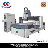 Aluminium/PVC/bois/acrylique Auto changement d'outil CNC routeur CNC la gravure et de machine de coupe