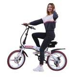 Verborgen accu Assist hybride Fietsen Opvouwbare fiets Elektrische fiets Scooter Vouwbare commuter 7-speed e-bike